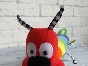 Шьем развивающую игрушку-гусеничку. Ярмарка Мастеров - ручная работа, handmade.