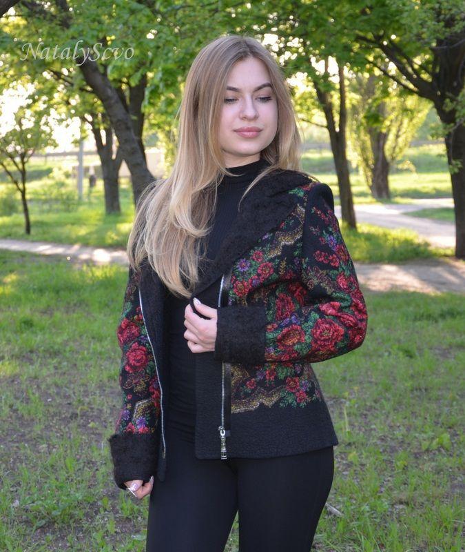 куртка валяная, natalyscvo