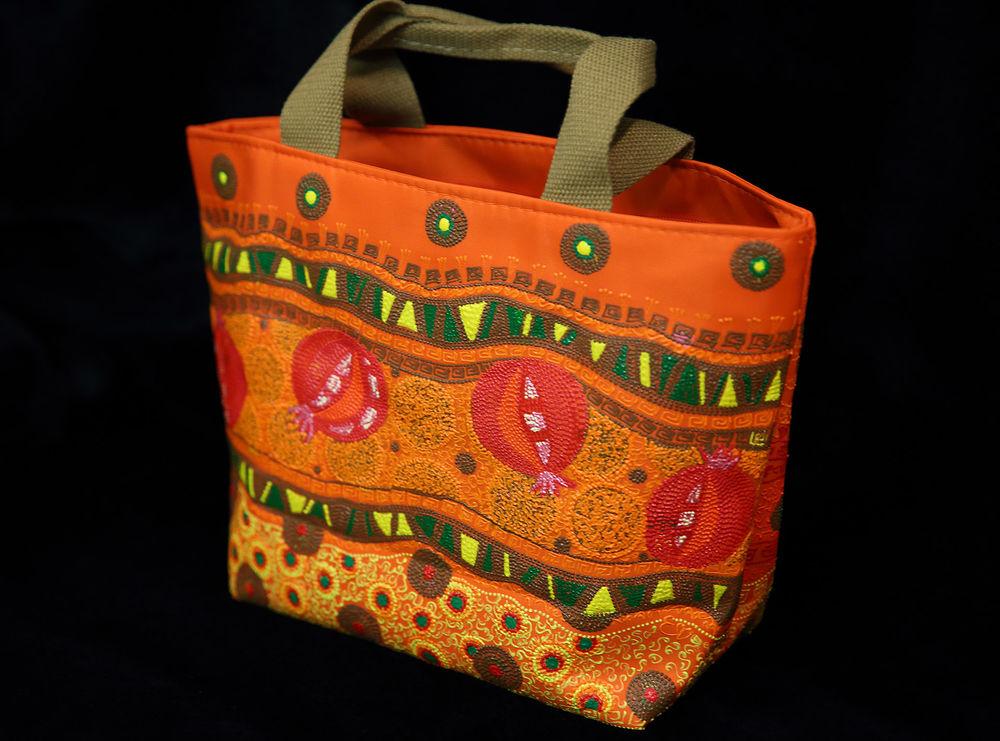 купить летнюю сумку, точечная роспись