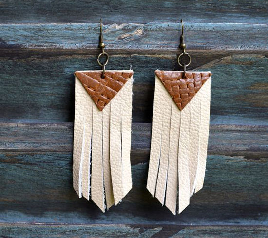 30 Simple Ideas for Design of Handmade Leather Jewelry, фото № 15