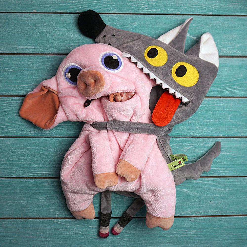 юмор, мягкие игрушки, свинка, розовый