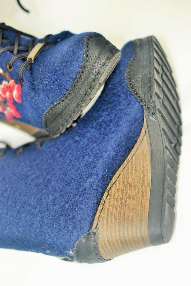 валяная обувь, реставрация, снегири