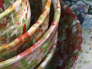 Новая коллекция гончарной посуды Лето. Ярмарка Мастеров - ручная работа, handmade.