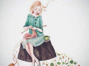 Жена — рукодельница | Ярмарка Мастеров - ручная работа, handmade