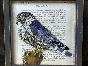 Птицы из папье-маше Кэтрин Уэллс. Ярмарка Мастеров - ручная работа, handmade.