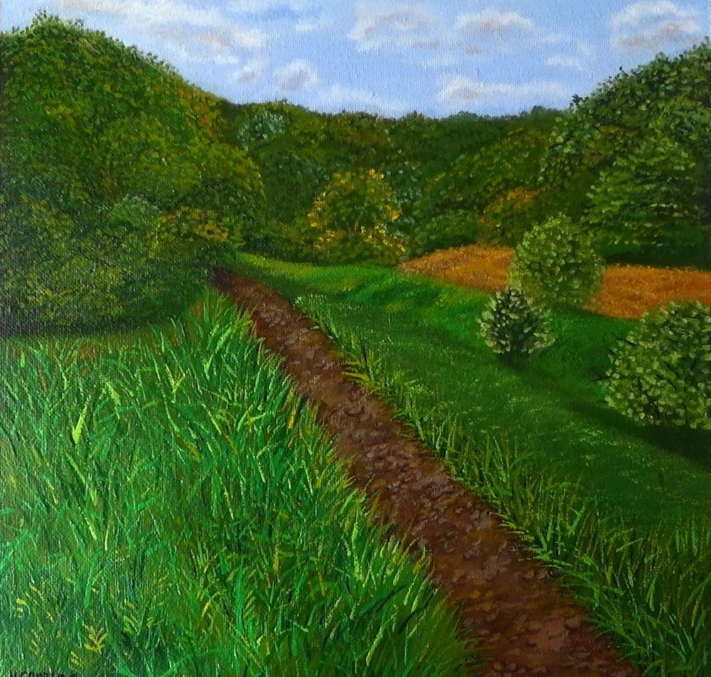 салат, картины маслом пейзаж, пейзажи, холст масло, скидки