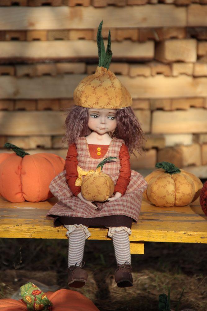 авторская кукла, лук, коллекционирование, сделано руками