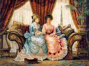 Эпоха элегантности в картинах английского художника Alan Maley. Ярмарка Мастеров - ручная работа, handmade.