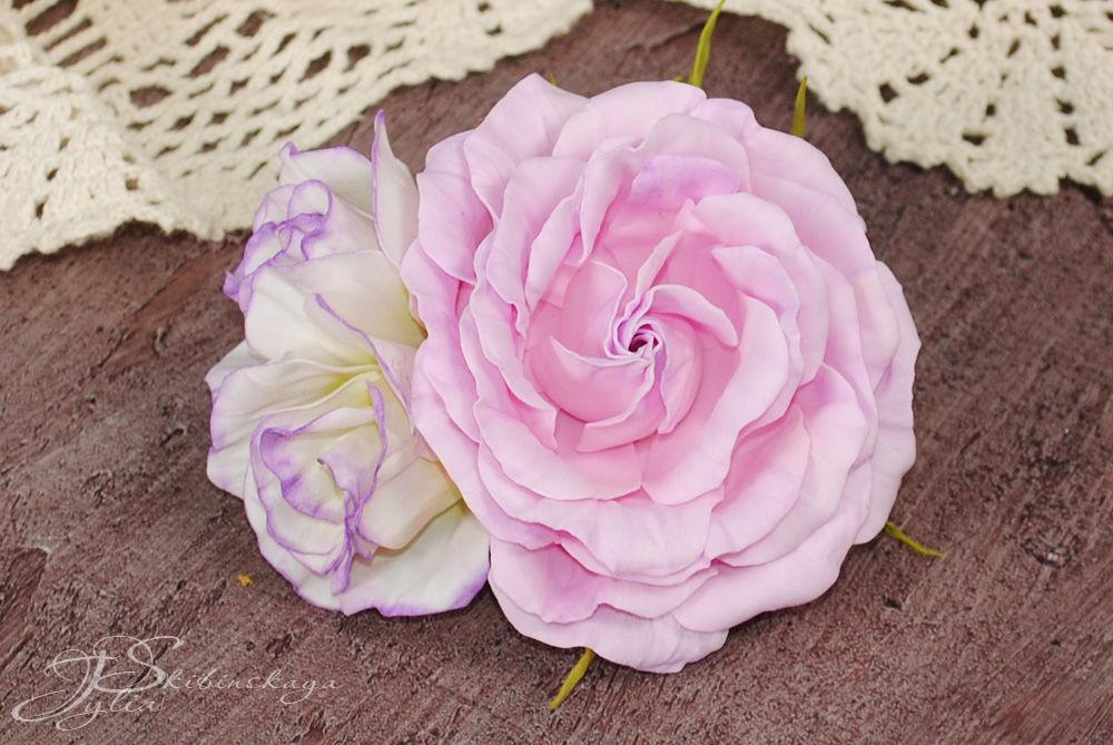 цветы из фоамирана, кукла своими руками