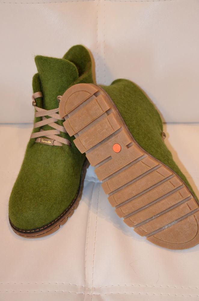 Мастер класс по созданию цельновалянной обуви с установкой на подошву, фото № 3