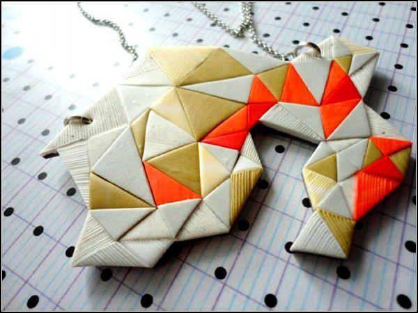 Геометрические украшения от NoMilk Today