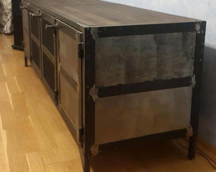 лофт, металлическая мебель