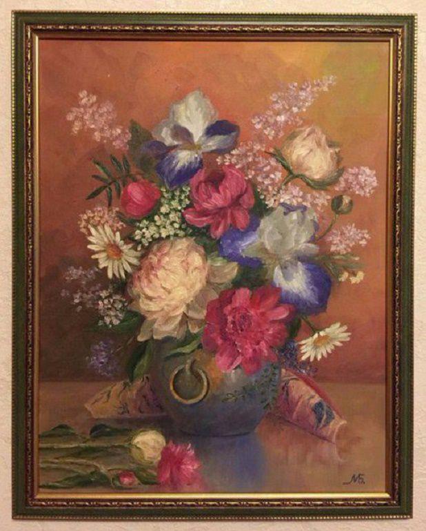 талант художника, пейзаж маслом