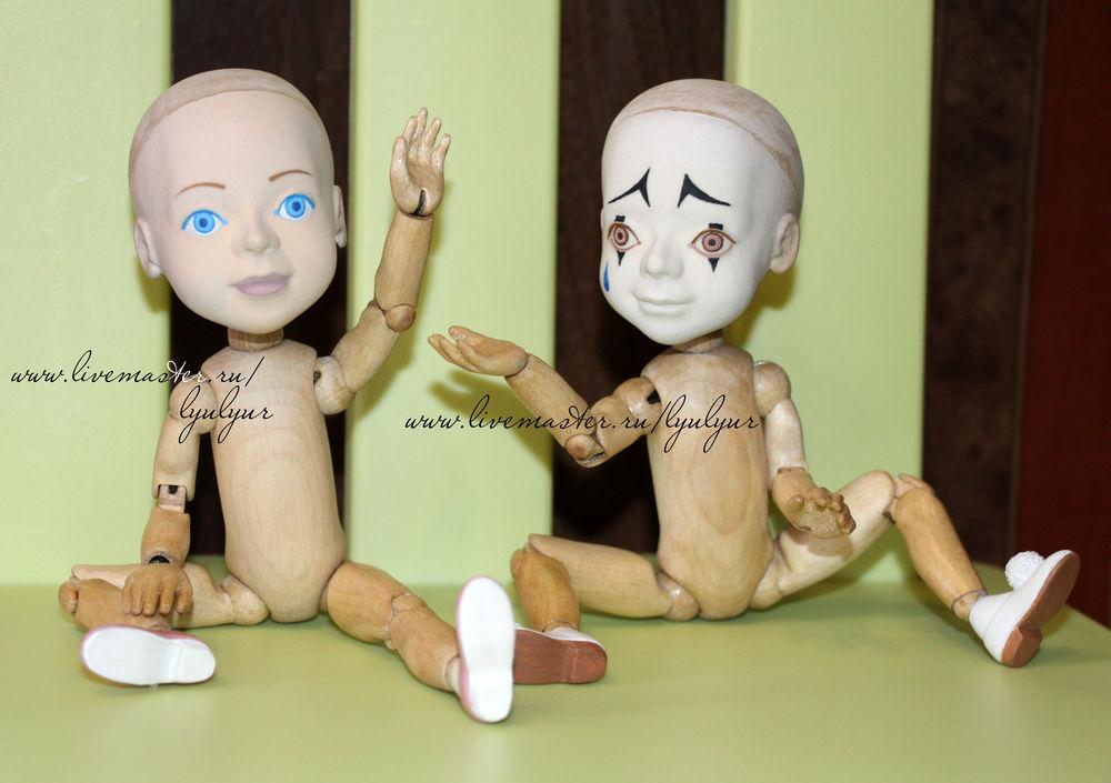 мальвина, деревянная шарнирка, сказочный персонаж, lyulyur