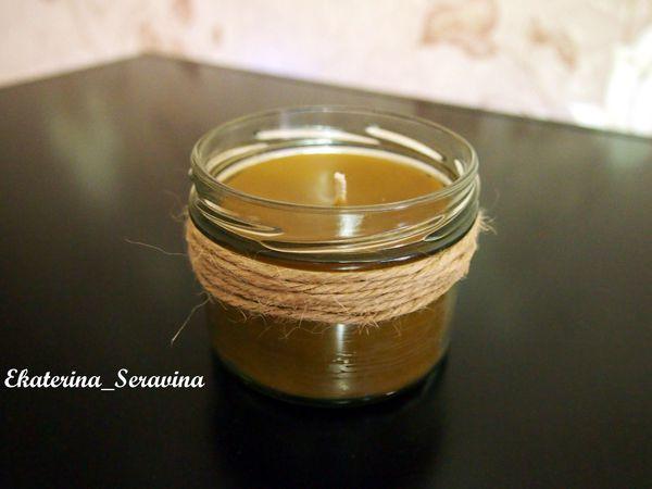 Свечи из пчелиного воска   Ярмарка Мастеров - ручная работа, handmade