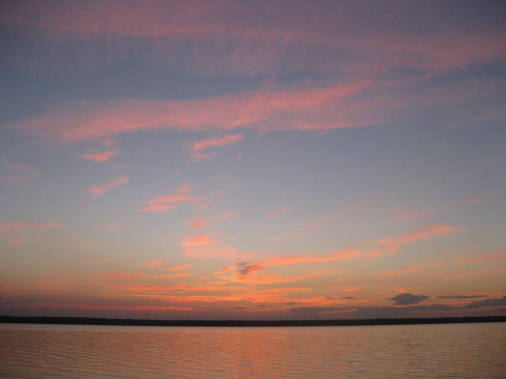 рассвет, дача, озеро селигер