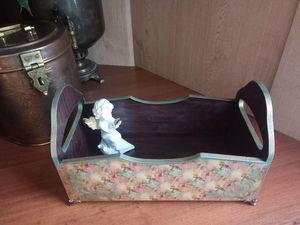 Большой короб по смешной цене на аукционе в помощь Наталье!. Ярмарка Мастеров - ручная работа, handmade.