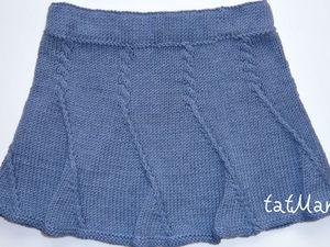 Отчет о тестировании вязаной юбки 8-ми клинки. Ярмарка Мастеров - ручная работа, handmade.