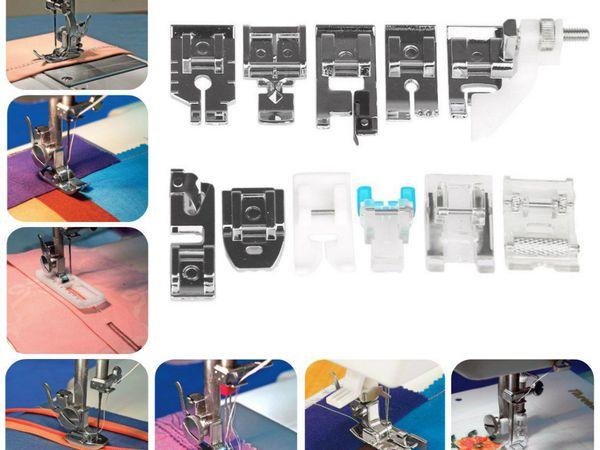 Набор из 11 лапок для бытовых швейных машин В НАЛИЧИИ! | Ярмарка Мастеров - ручная работа, handmade