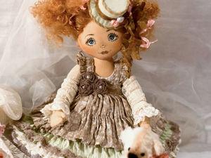 Кукла Ася   Ярмарка Мастеров - ручная работа, handmade