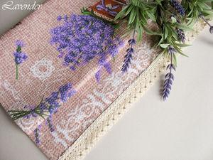 Полотенца с лавандой - лето на вашей кухне!. Ярмарка Мастеров - ручная работа, handmade.