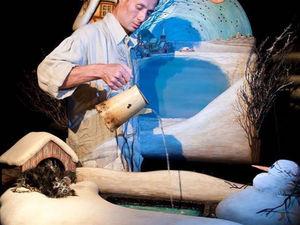 """Спектакль """"Снеговик""""  участник IV детского театрального фестиваля «Маршак». Ярмарка Мастеров - ручная работа, handmade."""