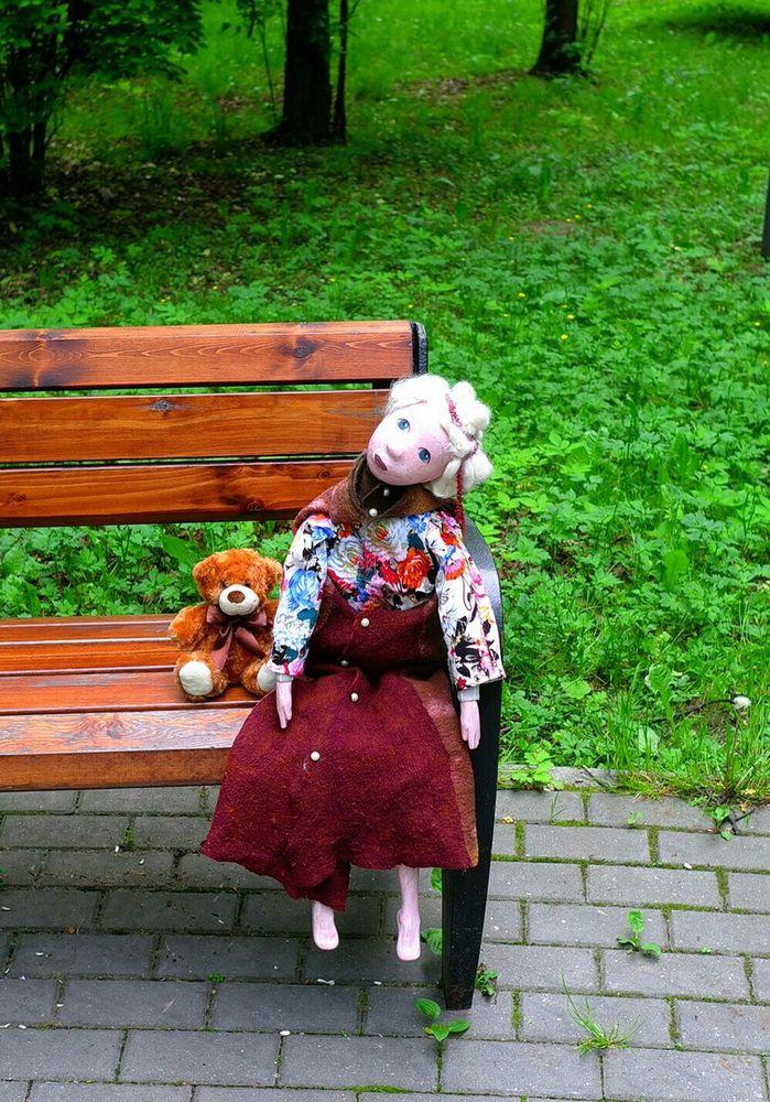 будуарная кукла, большая кукла, авторская кукла, кукла из дерева, кукла из папье-маше, лукерья, текстильная кукла, мягконабивная кукла
