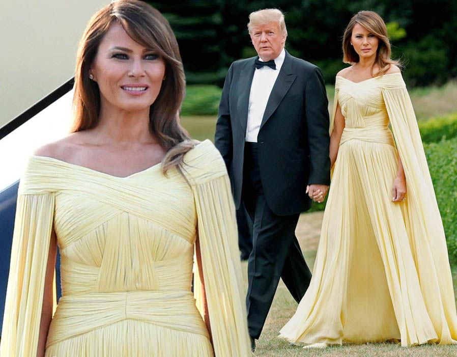 Безупречный стиль первой леди США Мелании Трамп, фото № 8