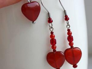 Комплекты украшений в подарок для подписчиков в честь дня Валентина. Ярмарка Мастеров - ручная работа, handmade.