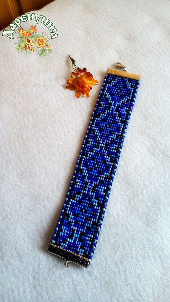 браслеты, новый, широкий браслет, бисер, бисерное ткачество, яркий аксессуар, аксессуары, 8 марта, девушке, девушкам