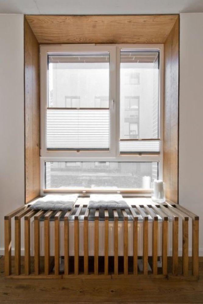 45 идей для декорирования батарей отопления, или Как «замаскировать» радиаторы отопления дома, чтобы не мозолили глаза, фото № 31