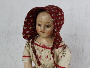 Мария, новая кукла, новая пресс-форма.. Ярмарка Мастеров - ручная работа, handmade.