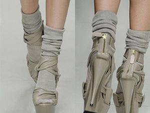 Босоножки и носки. Как вам такой тренд?. Ярмарка Мастеров - ручная работа, handmade.