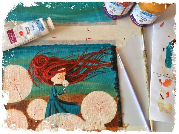 И только так... Роспись выполняется полностью вручную! | Ярмарка Мастеров - ручная работа, handmade