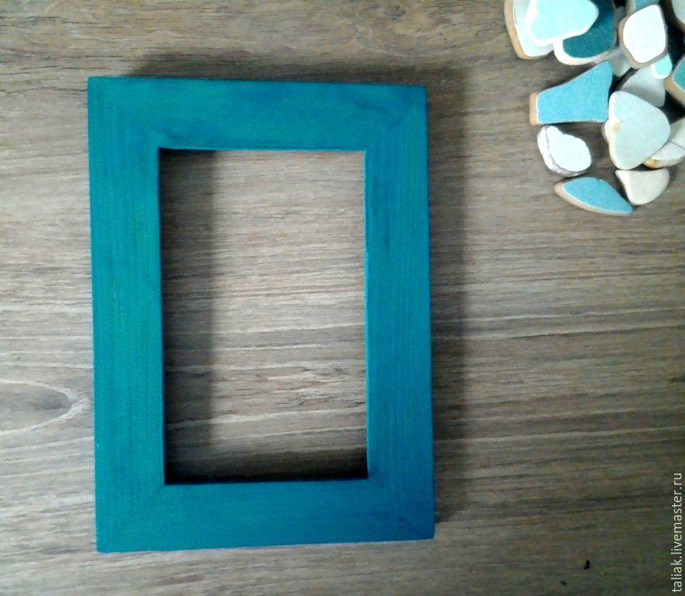 кусочки плитки с моря