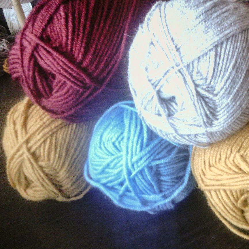 ткачество, нитки, домоткань, шарф