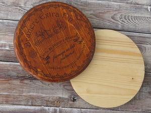 Быстрый декор сырной досочки. Ярмарка Мастеров - ручная работа, handmade.