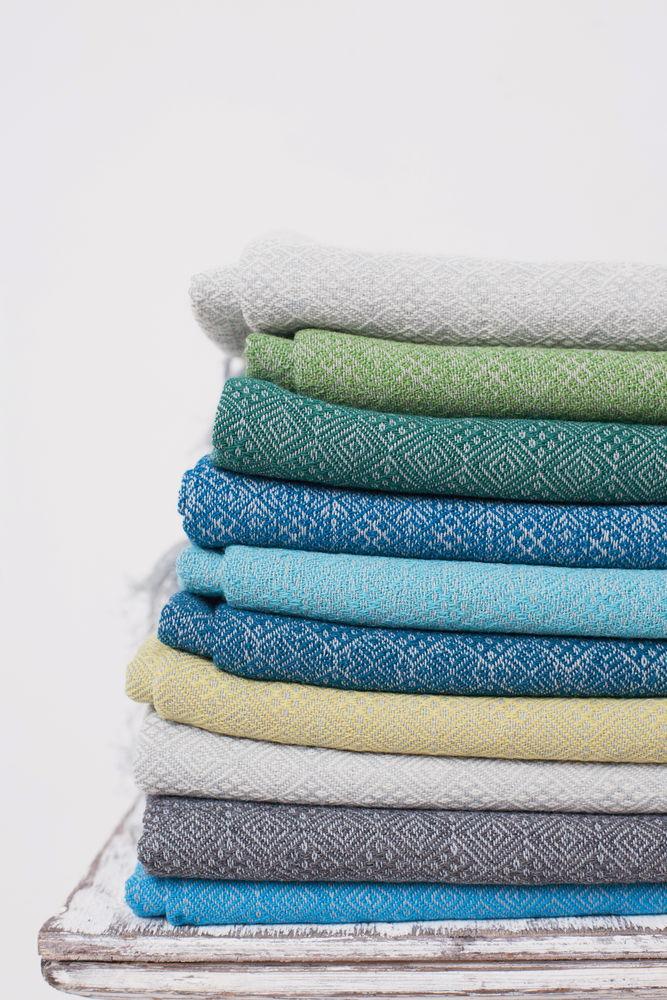 палитра шалей, цветовая гамма