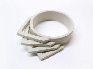 Мастерим кольцо в стиле «Лофт» из серебряной глины. Ярмарка Мастеров - ручная работа, handmade.