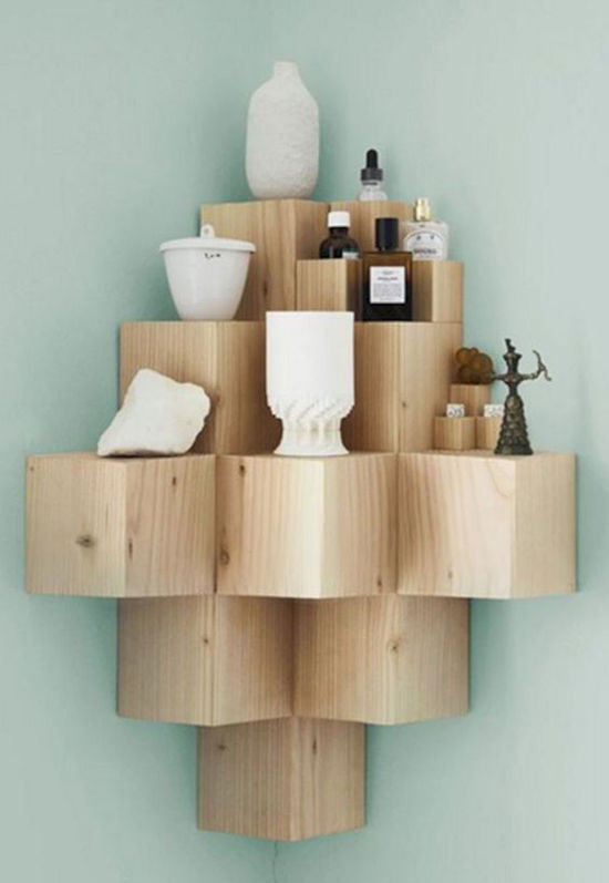 Simple and Budget Ideas for Home: Open Shelves and Ways of Mounting, фото № 5