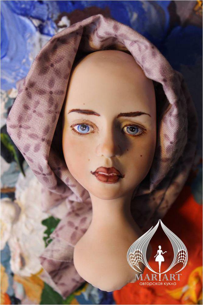 запекаемый пластик, роспись акварель, авторская кукла