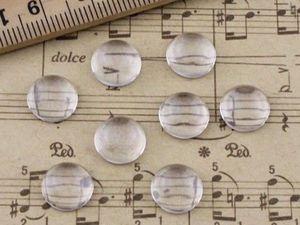 Кабошоны круглые стеклянные. | Ярмарка Мастеров - ручная работа, handmade