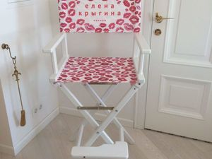 Кресло для макияжа Елены Крыгиной. Ярмарка Мастеров - ручная работа, handmade.