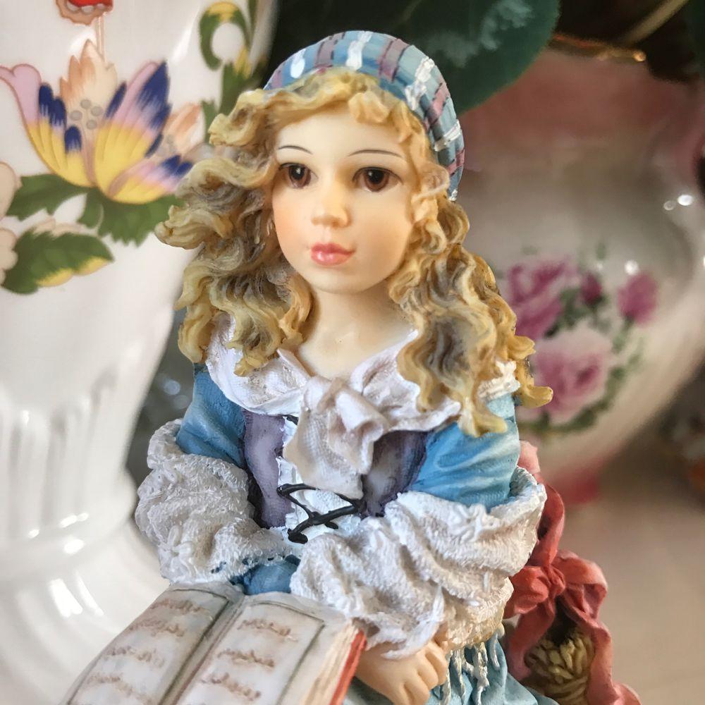 фарфоровая статуэтка, leonardo collection, английский фарфор, скидка