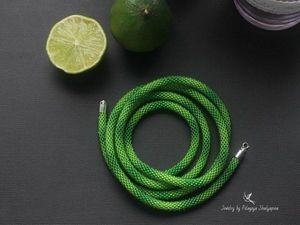 Аукцион «Зелёный лариат». Ярмарка Мастеров - ручная работа, handmade.