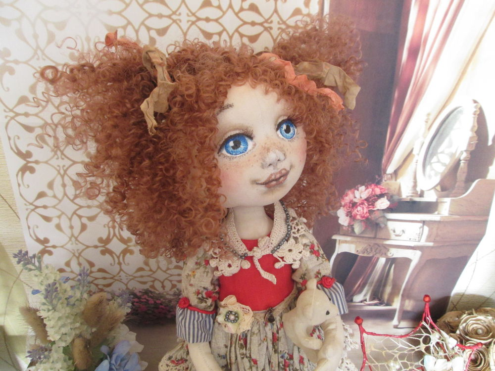 подарок 2017, куклы от милы, клддекцилнные куклы, текстильные куклы, интерьерная кукла, кукла в подарок, ручная работа, кукла ручной работы, кукла лизонька