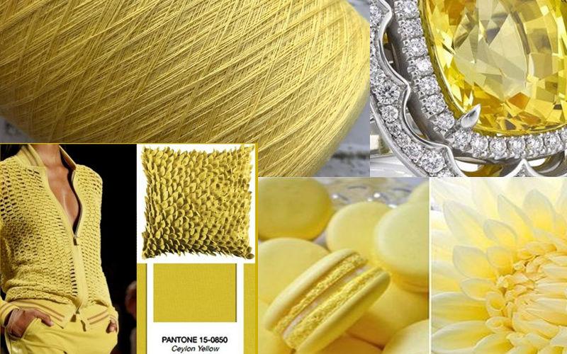 С чем сочетается желтый в вязаных вещах
