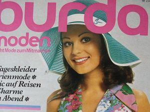 Burda moden 4/1973 Бурда Моден. Ярмарка Мастеров - ручная работа, handmade.