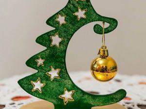 Делаем новогодний сувенир «Ёлочка». Ярмарка Мастеров - ручная работа, handmade.