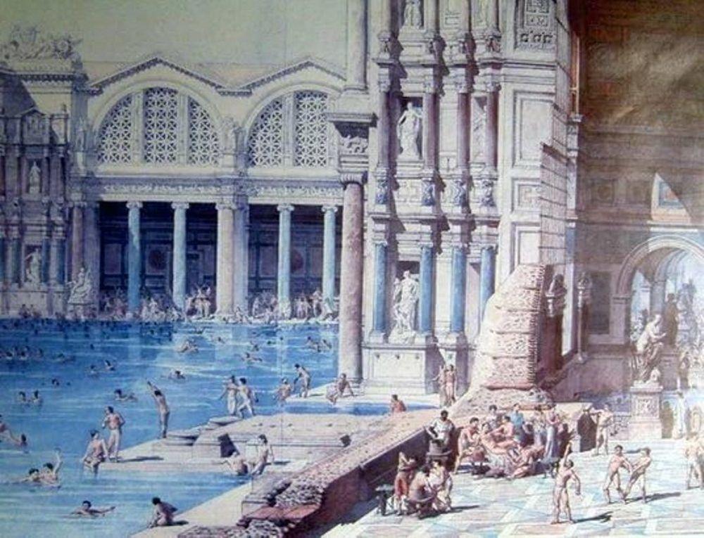 история бани бочки